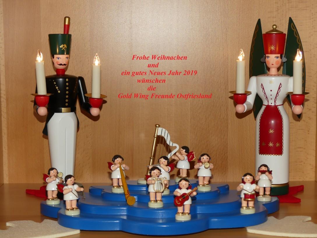 Wing Gold >> Weihnachtsgruß 2018 - Gold Wing Freunde Ostfriesland